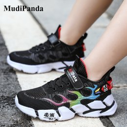 hollow mesh shoes NZ - MudiPanda Kids Sneakers 2020 Autumn Winter Children'S Boys Hollow Mesh Sports Shoes Wear-Resistant Breathable For Girl Footwear