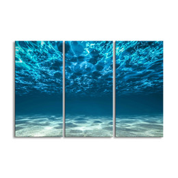 $enCountryForm.capitalKeyWord Australia - 3 pieces of HD print submarine surface canvas painting poster and wall art living room picture HDBM3-1A