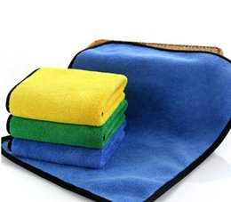 Wholesale Super Absorbent Car Wash Cloth Microfiber Towel Cleaning Drying Cloths Rag Detailing Car Towel Car Care Polishing