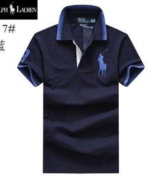 Polo Men Ralph Australia - ralph men lauren Designer polo lapel luxury high quality Embroidery polos shirts Brand Business Cotton T shirt summer trend Comfortable 5656