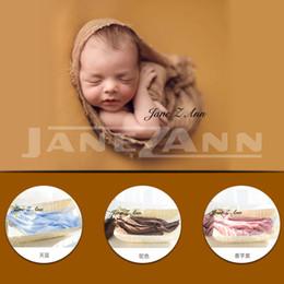 $enCountryForm.capitalKeyWord NZ - Jane Z Ann Newborn photography props European and American style studio photo shoot solid color wraps soft cloth 90x180cm