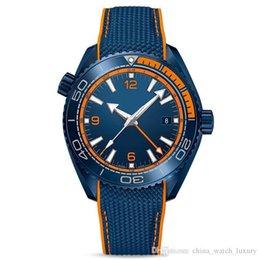 Big Bang Watch Sapphire Australia - 2019 luxury mens watches mens watches planet ocean big bang ceramic rubber strap orologio di lusso da polso
