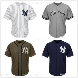 Kids jersey baseball online shopping - Men Women Youth Jerseys Blank Jersey Baseball Jersey No Name No Number White Gray Grey Navy Blue Green Salute to Service Kids