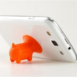 cup holder stick 2019 - 2018 Lovely Pig Phone Holder stand Silicone Suction Cup Cute Cartoon Mini Universal Mount Bracket Cell Phone Holder Kick