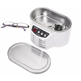 ultrasonic cleaning steel Australia - MISSKY 600ML Exquisite Stainless Steel Ultrasonic Cleaner Digital Ultrasound Wave Washing Unit for Jewelry Glasses