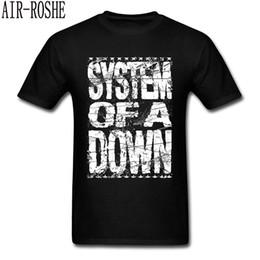 $enCountryForm.capitalKeyWord Australia - System Of A Down T Shirt Men Logo T-shirt Hip Hop Tee Fashion Black White Clothing Vintage Letter Tops Band Tshirts