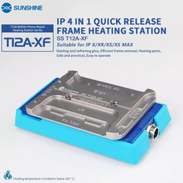 removal machine NZ - SS-T12A XF IP 4 in 1 quick remove frame machine for iphone X XR XS XS MAX Rapid heating glue efficient frame removal