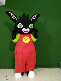 high quality Real Pictures bing bunny mascot costume anime costumes advertising mascotte Adult Size factory direct free shipping on Sale