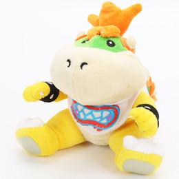 Bowser Plush Toys Wholesale Australia - Super Mario Plush Toy Koopa Bowser Soft Stuffed Dolls Morton Koopa JR Gift for Children