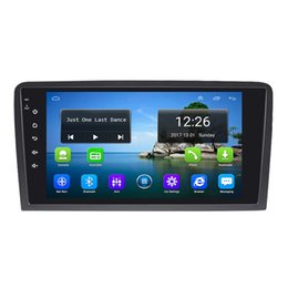 audi usb mp3 Australia - Android 4G LTE HD 1080P car MP3 MP4 Music Resolution HD display Resolution 1024 * 600 USB for AUDI A3 S3 9inch