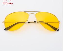 $enCountryForm.capitalKeyWord Australia - Korean version sunglasses metal sunglasses golden night vision glasses fashionable toad glasses