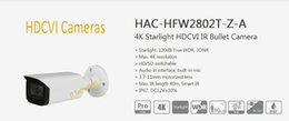 $enCountryForm.capitalKeyWord Australia - Free Shipping DAHUA Security Camera CCTV 4K Starlight HDCVI IR Bullet Digital Video Camera IP67 without Logo HAC-HFW2802T-Z-A