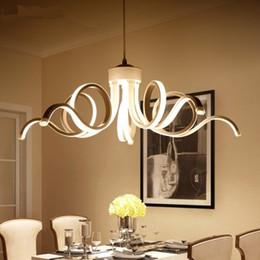 $enCountryForm.capitalKeyWord Australia - Fashion Style LED Pendant Lamp Singular Petals Pendant Lights for Bar Bedroom Living Room Kitchen Illumination