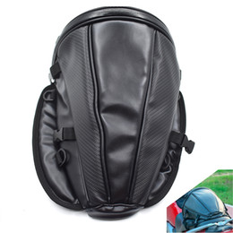 bike trunk bag NZ - For Motorcycle Bike rear trunk Waterproof Back Seat Carry Luggage Tail Bag Saddlebag