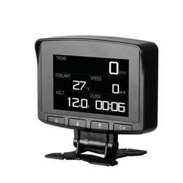Car Heads Up Display Australia - TlXC X50 PRO OBD II HUD Head Up Display Digital Car Computer Auto ECU Film Gauge Speed Meter Electronic Monitor Diagnosis Tool