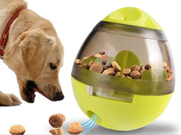 $enCountryForm.capitalKeyWord Australia - Puppy Interactive Food Treat Ball Toy Funny Pet Shaking Leakage Food Container Dog Cat Slow Feed Pet Brain Training Toy
