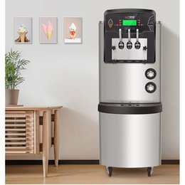 Metal Makers Australia - air cooling 7.2L*2 Commercial Soft Ice Cream Machine Automatic Ice Cream Maker Intelligent Soft Serve Ice Cream Machine