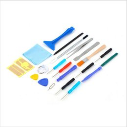 Used Toys Wholesale Australia - In Common Use Phone Repair Tool Kit For iPhone iPad Xiaomi Tablet PC Small Toys Hand Tools Mobile Phone Screen Repair