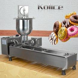 Kolice Donut Makinesi Yiyecek İşleme Ekipmanları Otomatik Donuts Kızartma Makinesi