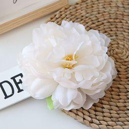 $enCountryForm.capitalKeyWord NZ - 15cm large simulation silk peony flower head wedding decoration road leading wreath DIY background artificial peony flower wall
