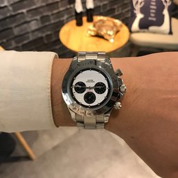 Discount wrist watch cases stainless - luxury watch mens watches R3 316L stainless steel case band Fully automatic imported mechanical movement Souvenir man wr