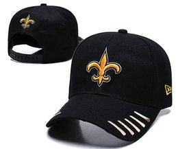 ffe0829e93919 Wholesale 2019 Top Quality Saints Snapback Hats Gorras Embroidered Team  Logo Fan s Hip Hop Cheap Sports Baseball Adjustable Caps Bones
