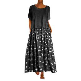$enCountryForm.capitalKeyWord UK - Women's Fashion Dress V-Neck Short-Sleeve Polka Dot Dresses Sexy Two-Piece Beach Dress Beach Cover Up Swimwear Women #B