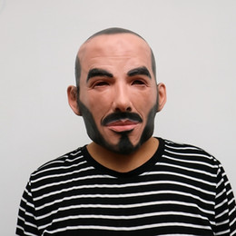 $enCountryForm.capitalKeyWord Australia - Realistic Party Cosplay Famous Person Man David Beckham Face Masks Latex Real Human Face Cosplay Mask Cool Event Mask Funny J190710