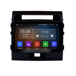 gps for toyota land cruiser UK - 10.1 inch Android 9.0 HD TouchScreen Car GPS Navigation System for 2007-2017 TOYOTA LAND CRUISER with Bluetooth WIFI support car dvd 3G 4G