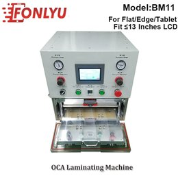tablet screen machine NZ - 13 Inches BM11 YMJ Desktop Vacuum Laminator Tablet Lcd Screen Refurbishing Laminating Machine for Flat   Curved   Tablet