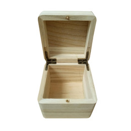 $enCountryForm.capitalKeyWord Australia - Flip Catalpa Wood Simple Fashion Watch Boxes Solid Wood Gift Watch Jewelry Box Wooden Watch Display Box Holiday Gift Boxes Custom