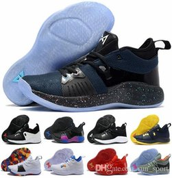 bbd0557d5e31 With Box pg 2 II basketball shoes Cheap top quality PG2 Colorful Oreo Home Playstation  paul george shoes Mens Training Sneakers Size 40-46