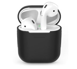 Cute Wireless Headphones UK - Cute Bluetooth Headsets Earbuds Full Protective Case for Apple Airpods Wireless Bluetooth Headphones Earbuds Earphones For Charging Box