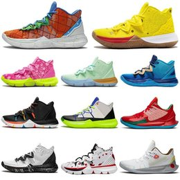 White house box online shopping - 2020 New Kyrie s Pineapple House men basketball shoes Patrick Sponge Bob Squidward Mr Krabs Athletic mens trainers sports sneakers