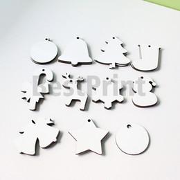 Doppelseitige 3 mm dick MDF blank Sublimation Weihnachtszierde im Angebot