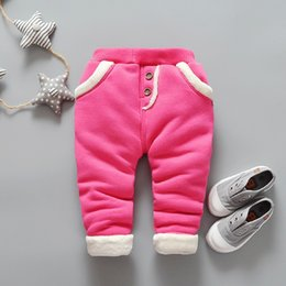 Baby Girl Toddler Leggings Australia - good quality Winter Baby Warm Pants for Girls Children Velvet Thick Leggings Pants Toddler Girls Newborn Casual Pants Kids Trousers