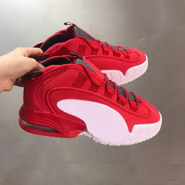 Wholesale red house resale online - Penny Lil Penny Hardaway basketball sneaker house party mens shoes yakuda Dropping Accepted fashionable Training Sneakers running shoes