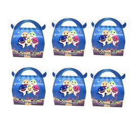 $enCountryForm.capitalKeyWord Australia - 6 Pieces Bag Baby Shark Candy Box Children Halloween Party Decortation Supplies Cute Ox Horn Candy Box Festival Toys L196