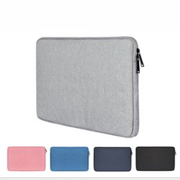 Acer Hp Laptops China Australia - Waterproof Laptop Sleeve Bag Water Repellent Polyester Protective Case Cover with Pocket