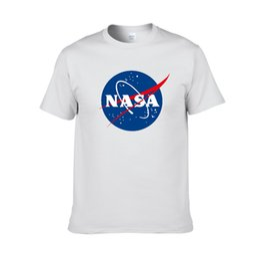 62992c90ae NASA Space tshirt Retro T-shirt Harajuku Men Cotton Shirts Fashion brand  Nasa Print T Shirt Men Short Sleeve T-shirt summer wear