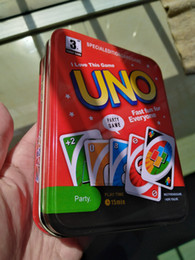 card games uno wholesale Canada - Party Family Games& Crafts UNO Card Games Family Party Game Card
