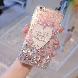 $enCountryForm.capitalKeyWord Australia - Phone Case For Meizu M3 M5 M6 Note Case cute Love Glitter Liquid Soft TPU Silicone Case For Meizu M6S M6T M5S M3 M3S MX6 Cover