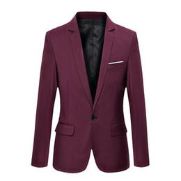 Discount korean fashion men suit coat - Fashion Brand Blazer Men Korean Style Slim Fit Casual Cotton Blazers Homme Suits Jacket Male Coat Black Blue Plus Size 3