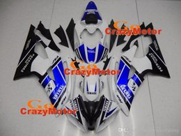 R6 White Blue Australia - 4 Free Gifts New Injection ABS Fairing kits 100% Fit for YAMAHA YZFR6 08 09 10 11 12 13 14 15 YZF R6 2008-2015 YZF600 set blue black white