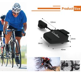 wireless bicycle UK - CooSpo Bluetooth ANT+Cycling Speed Cadence Sensor Wireless MTB Bike Computer Waterproof Bike Speedometer ABS Bicycle Accessories