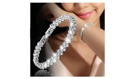 $enCountryForm.capitalKeyWord Australia - Foreign Trade European, American and Roman Wind Bracelet Female Zircon Crystal Bracelet Ring Delicate Luxury Fashion Jewelry Insert Diamond