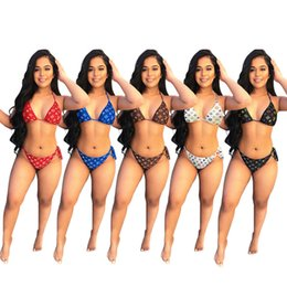 Wholesale beachwear dresses online – designer brand womens bra bikini fashion swimwear sexy swimsuit bathing suit beachwear high quality summer Bikini