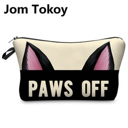 $enCountryForm.capitalKeyWord Australia - Jom Tokoy 3D Printing Makeup Bags Cartoon animal pattern Cosmetics Pouchs For Travel Ladies Pouch Women Cosmetic Bag