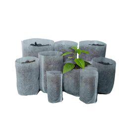 For Nursery Bags Australia - Fabrics Nursery Bags Seedling Raising Pots Degradable Nonwoven Gardening Supplies for Flower Vegetable Germinate Garden Supplies 100 pcs