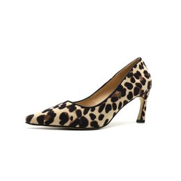 $enCountryForm.capitalKeyWord Canada - Spring style new hot personality and comfortable wild 7CM high heels sexy leopard print non-slip point stiletto women's shoes